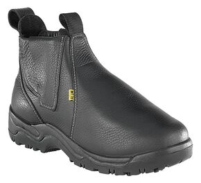 "Florsheim Men's Hercules 6"" Work Boots - Steel Toe, Black, hi-res"