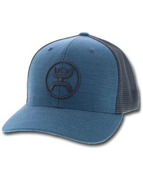"""HOOey Men's Blue """"O"""" Classic Cap, Light Blue, hi-res"""