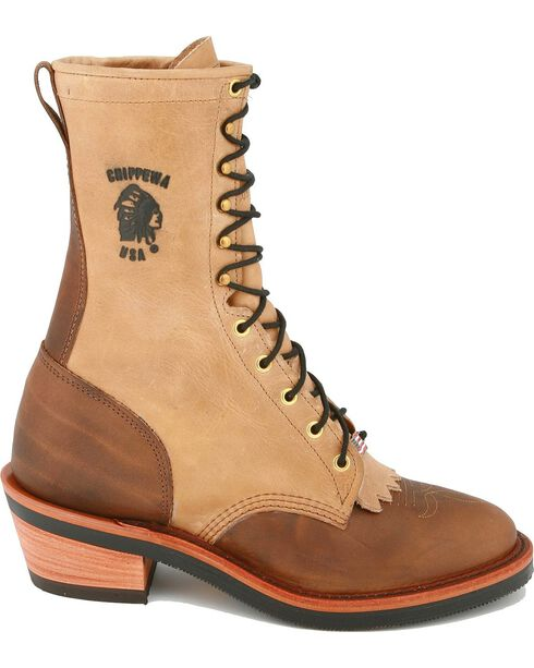 "Chippewa 10"" Lace-up Packer Boots, Bay Apache, hi-res"