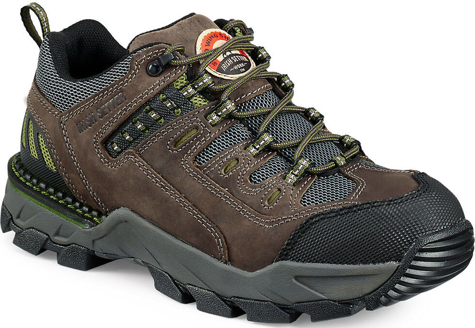 Irish Setter by Red Wing Shoes Men's Two Harbors Work Oxfords - Aluminum Toe , Grey, hi-res