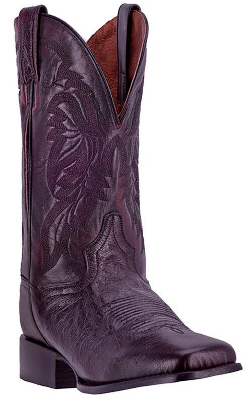 Dan Post Men's Black Cherry Callahan Cowboy Boots - Broad Square Toe, , hi-res