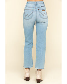 Wrangler Retro Women's Light Wash Boyfriend Capri Jeans, Blue, hi-res