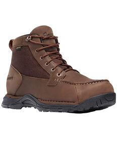 "Danner Men's Sharptail 4.5"" Waterproof Boots - Round Toe, Dark Brown, hi-res"