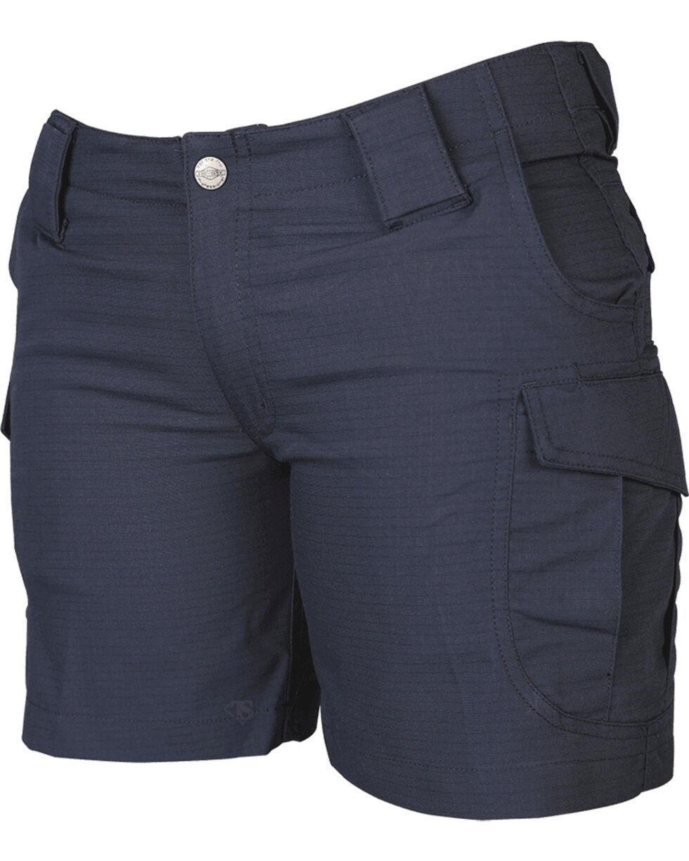 "Tru-Spec Women's 24-7 Series 6"" Ascent Shorts - Extended Sizes, Navy, hi-res"