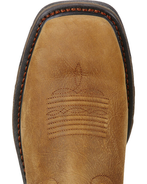 Ariat Workhog H2O 400g Cowboy Work Boots - Square Toe  , Brown, hi-res