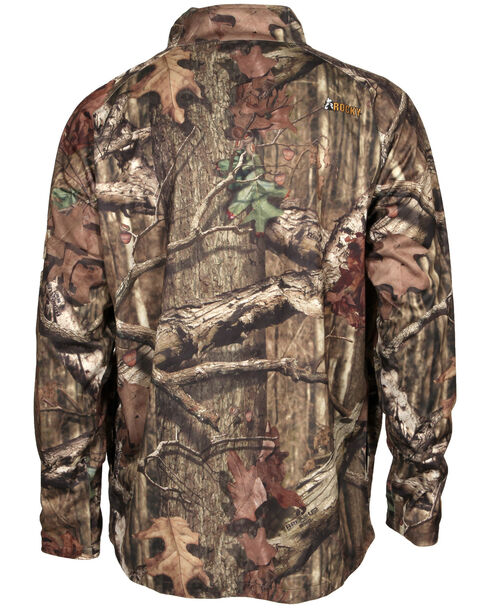 Rocky Break Up Camo Wind Shirt, Brown, hi-res
