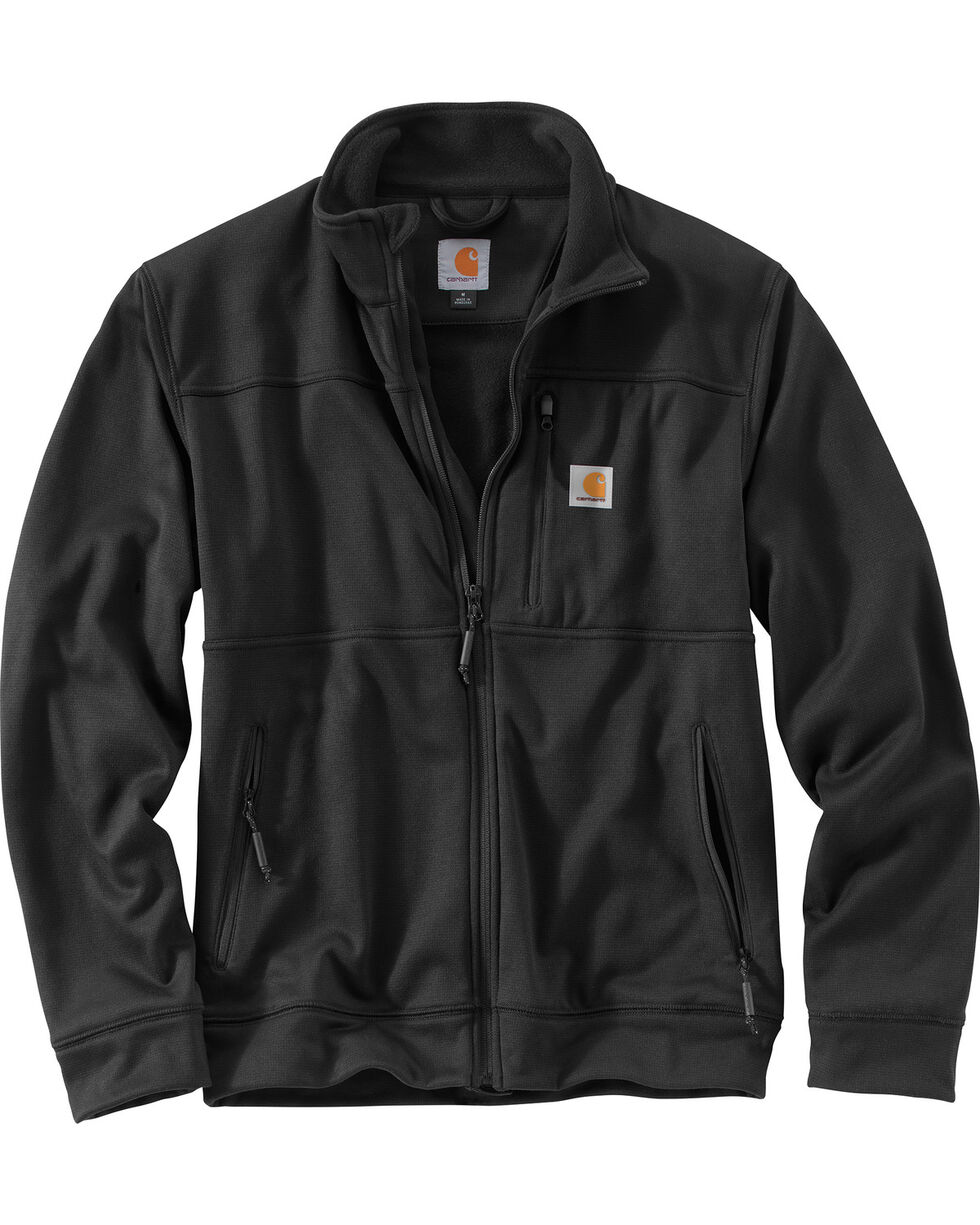 Carhartt Men's Workman Jacket, Black, hi-res