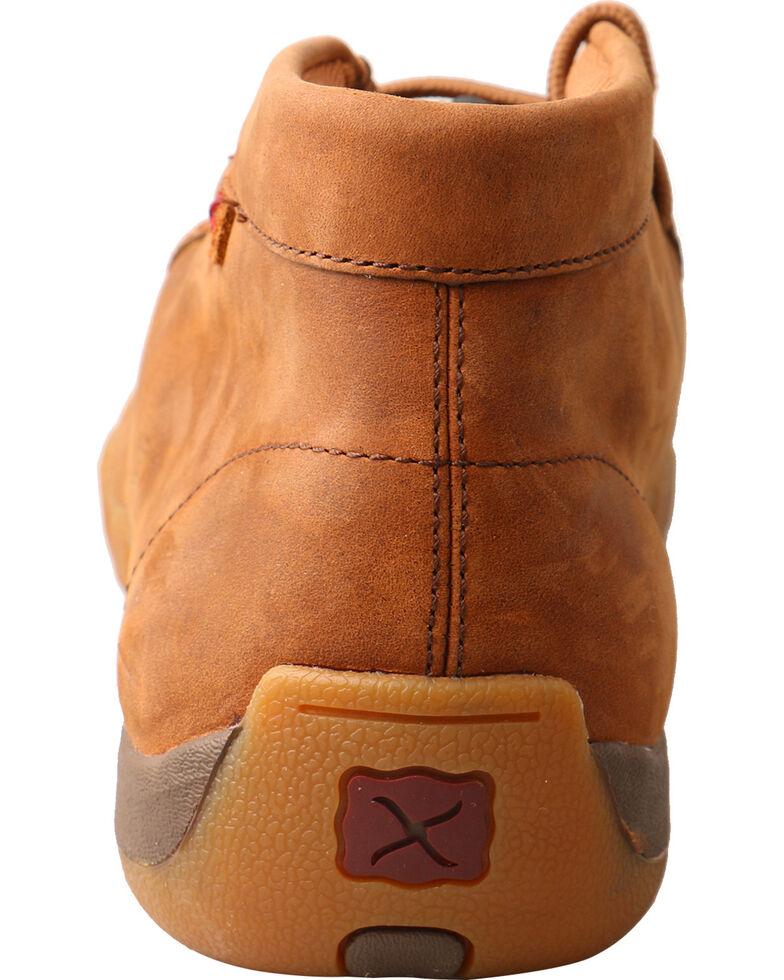 76030b5b00809 Zoomed Image Twisted X Men's Slip On Basketweave Driving Mocs - Moc Toe,  Brown, hi-