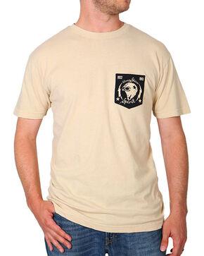 Moonshine Spirit Men's Moto Head T-Shirt, Sand, hi-res