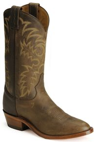 Tony Lama Men's Bay Apache Americana Cowboy Boots - Medium Toe, Bay Apache, hi-res