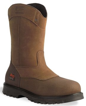 Timberland Pro Waterproof Wellington Boot - Steel Toe, Wheat, hi-res