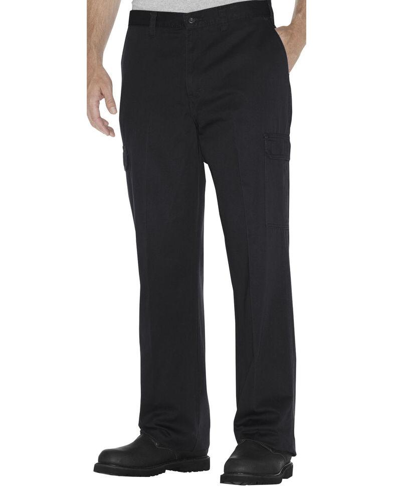 Dickies Loose Fit Cotton Cargo Pants - Big & Tall, Black, hi-res