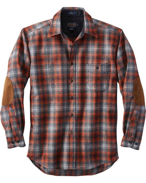 Pendleton Men's Grey Harley Plaid Trail Shirt , Grey, hi-res