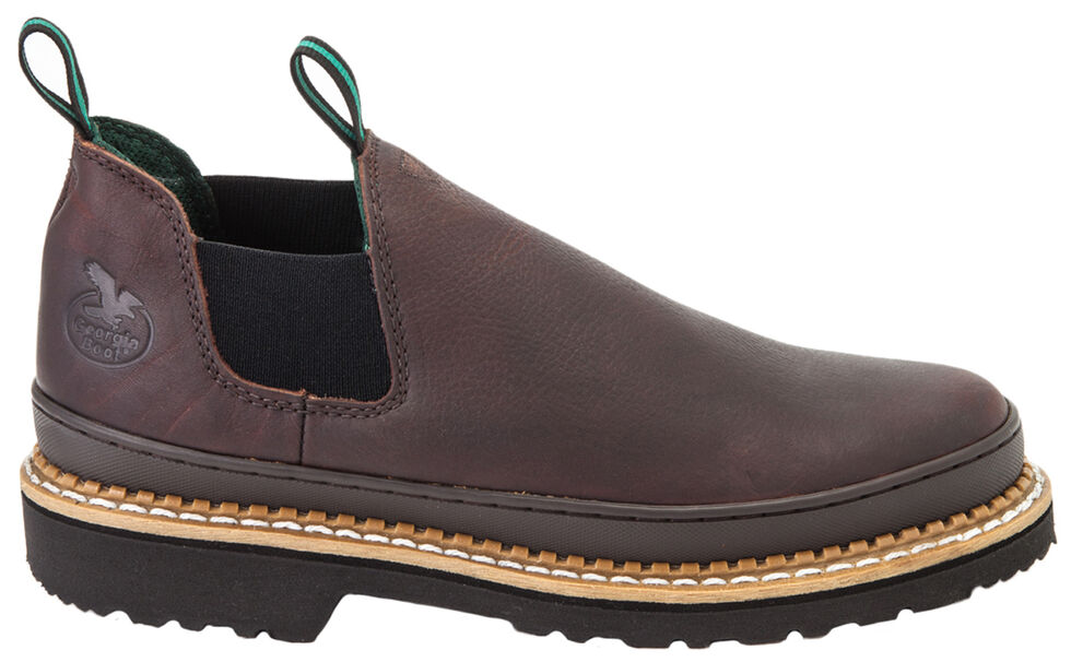 Georgia Boots Women's Giant Romeo Work Shoes, Brown, hi-res