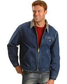 Dickies Corduroy Collar Denim Jacket, Denim, hi-res