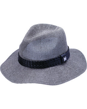 Peter Grimm Isha Braided Band Gray Sun Hat, Grey, hi-res