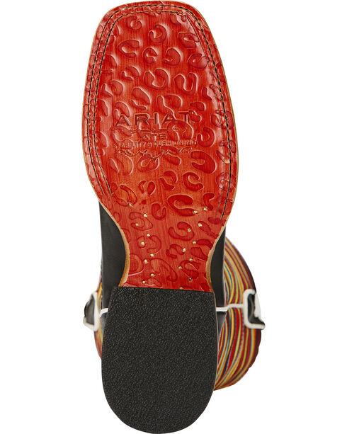 Ariat Gringa Raven Cowgirl Boots - Square Toe, Black, hi-res