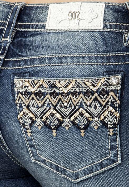 Miss Me Women's Indigo Narrow Escape Ankle Jeans - Extended Sizes, Indigo, hi-res