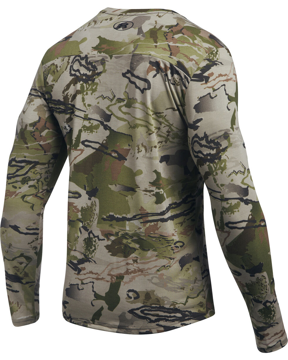 Under Armour Men's Camo Early Season Long Sleeve Tee , Camouflage, hi-res
