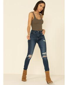Levi's Women's 724 Straight Leg Jeans, Blue, hi-res