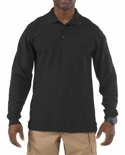 5.11 Tactical Utility Long Sleeve Polo Shirt - 3XL, , hi-res