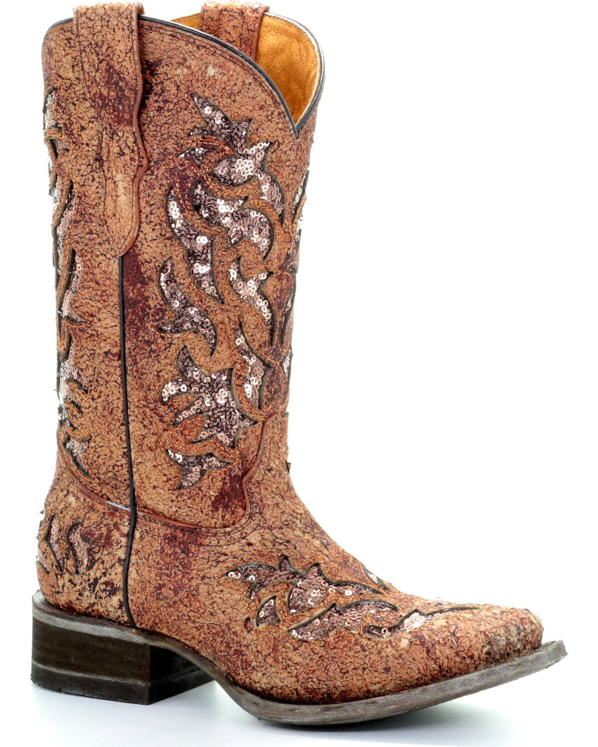 Corral Girls' Rustic Sparkling Sequin