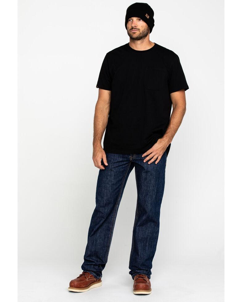 Cinch Men's White Label WRX Flame Resistant Jeans, Dark Denim, hi-res
