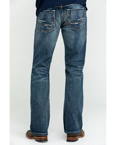 Ariat Men's M5 Lennox Stretch Slim Bootcut Jeans - Big , Blue, hi-res