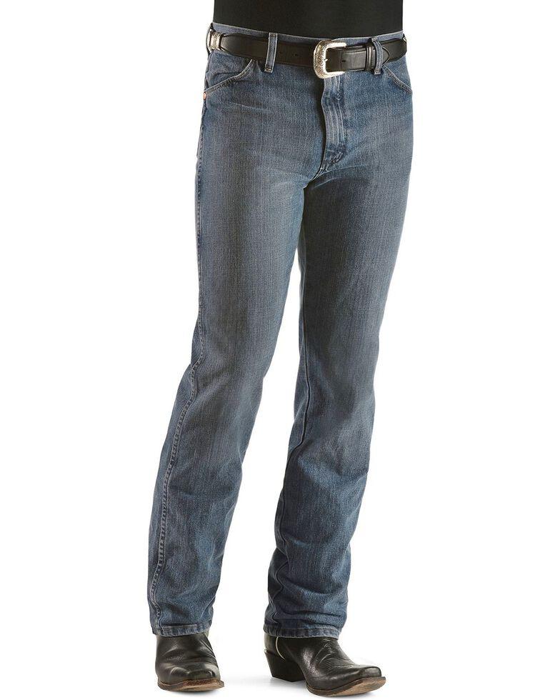 Wrangler 936 Cowboy Cut Slim Fit Prewashed Jeans, Rough Stone, hi-res