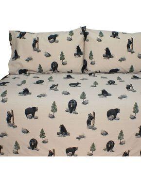 Blue Ridge Trading Bears King Sheet Set, Black, hi-res