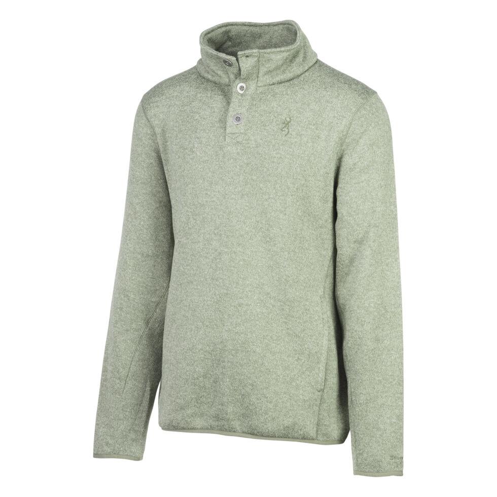 Browning Men's Gilson Sweater, Green, hi-res