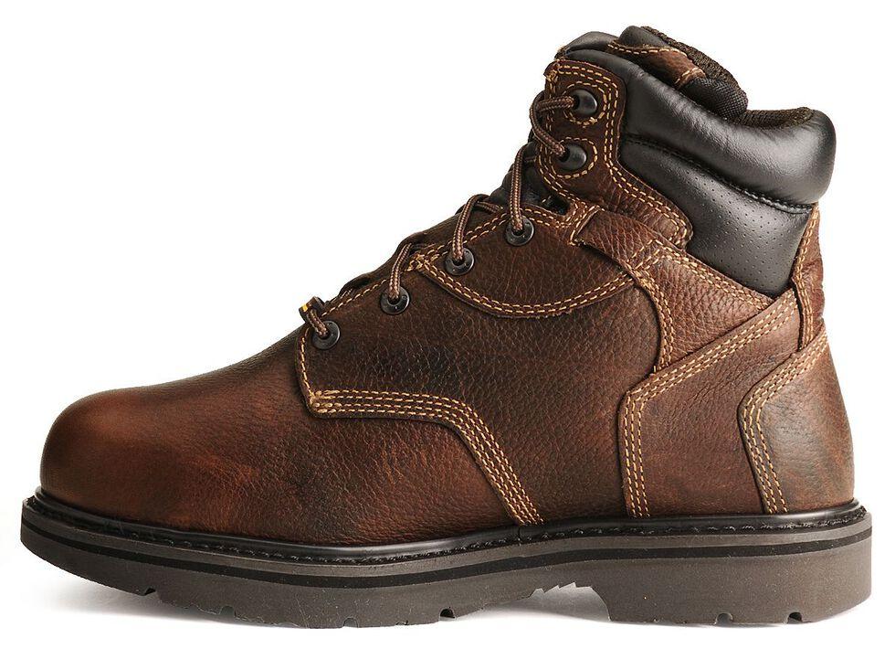 "Timberland PRO 6"" Internal Met Guard Work Boots - Steel Toe, Burgundy, hi-res"