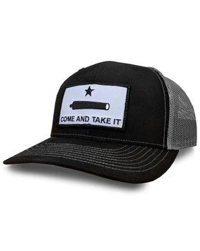 Oil Field Men's Black Come And Take It Trucker Cap, Black, hi-res