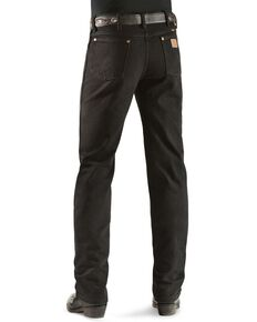 Wrangler Men's 936 Cowboy Cut Slim Fit Jeans - Prewashed Colors, Shadow Black, hi-res