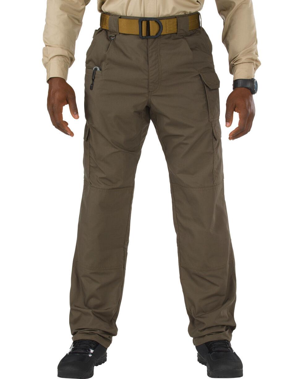 5.11 Taclite Poly/Cotton Ripstop Pants - Sizes 46-54 (Unhemmed), Dark Brown, hi-res