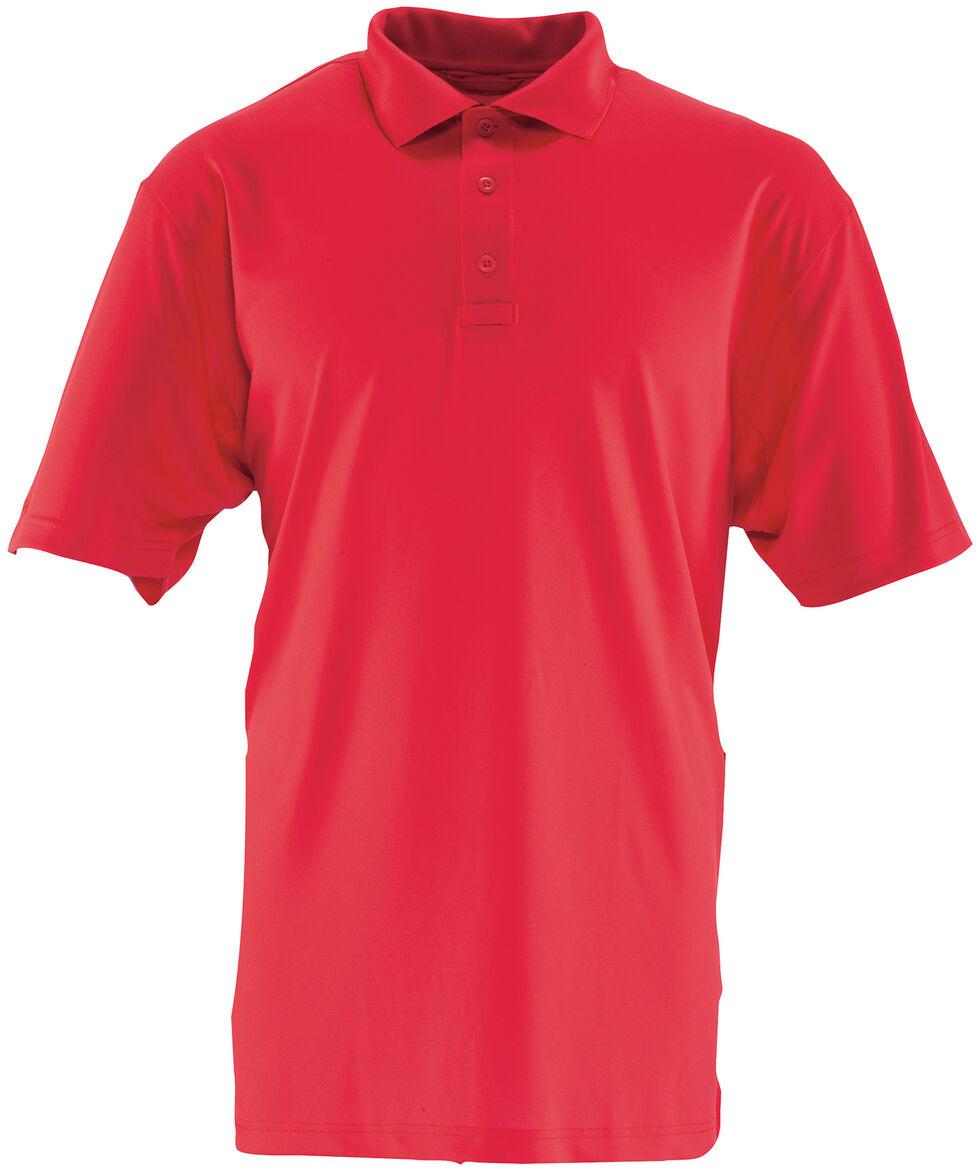 Tru-Spec Men's 24-7 Series Performance Polo Shirt, Red, hi-res