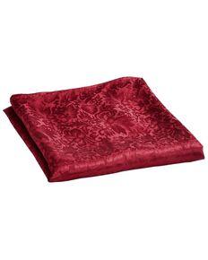 Jacquard Silk Wild Rag, Red, hi-res