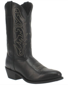 Dingo Men's Canyon Western Boots - Round Toe, Black, hi-res