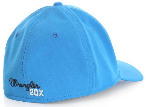 Wrangler Men's 20X Blue Stretch Fit Cap with Bull, Blue, hi-res