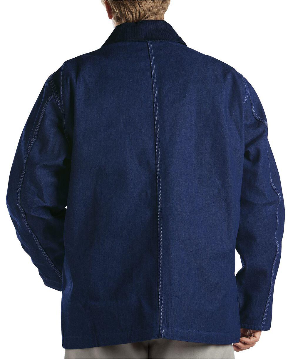 Dickies Blanket Lined Denim Chore Coat - Big & Tall, Blue, hi-res