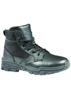 5.11 Tactical Men's Speed 3.05 Boots - Round Toe, Black, hi-res