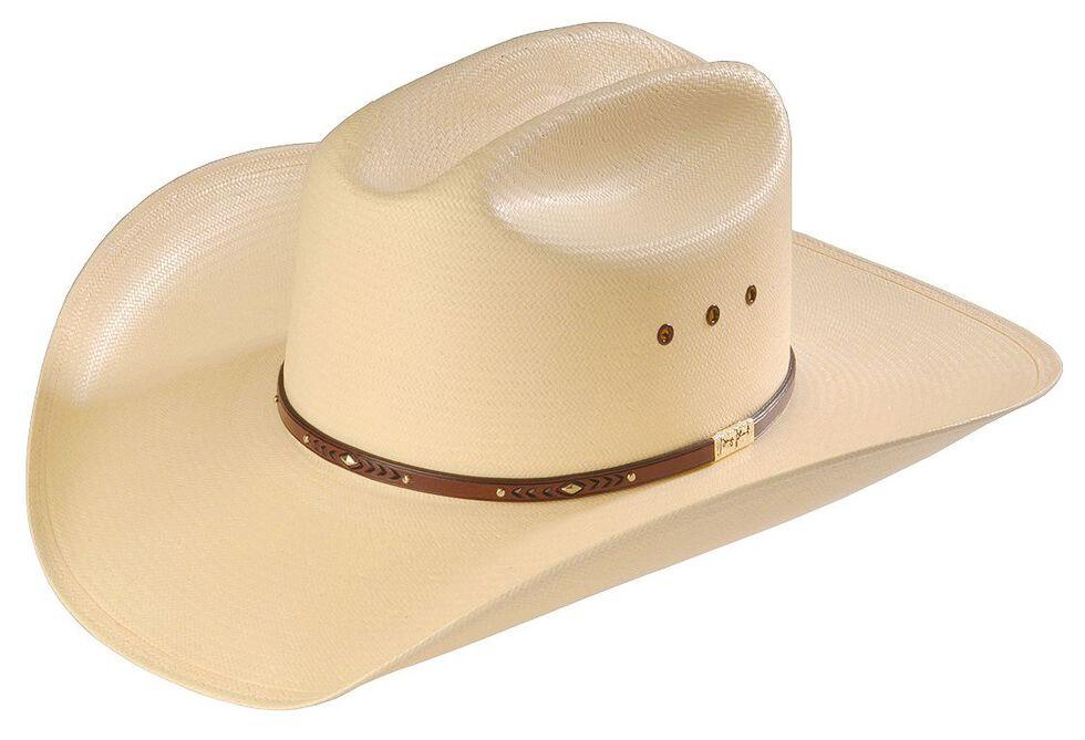 Resistol George Strait Palo Duro 8X Straw Cowboy Hat, Natural, hi-res