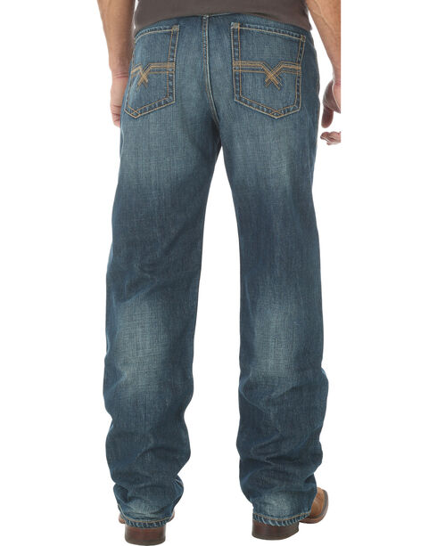 Wrangler 20X® Men's Indigo No.33 Extreme Relaxed Fit Jeans - Straight Leg - Long, Indigo, hi-res