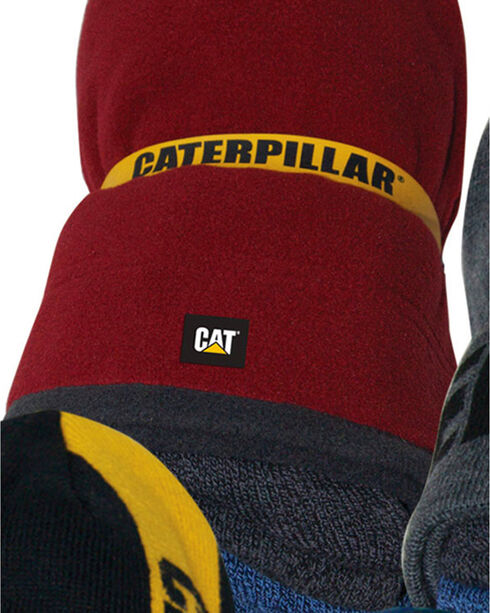 Caterpillar Men's Knit Sock and Beanie Bundle , Multi, hi-res