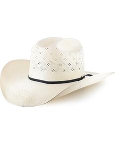 Resistol Men's Conoly 10X Straw Cowboy Hat, Natural, hi-res