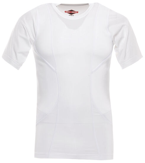 Tru-Spec Men's 24-7 Short Sleeve Concealed Holster Shirt, White, hi-res