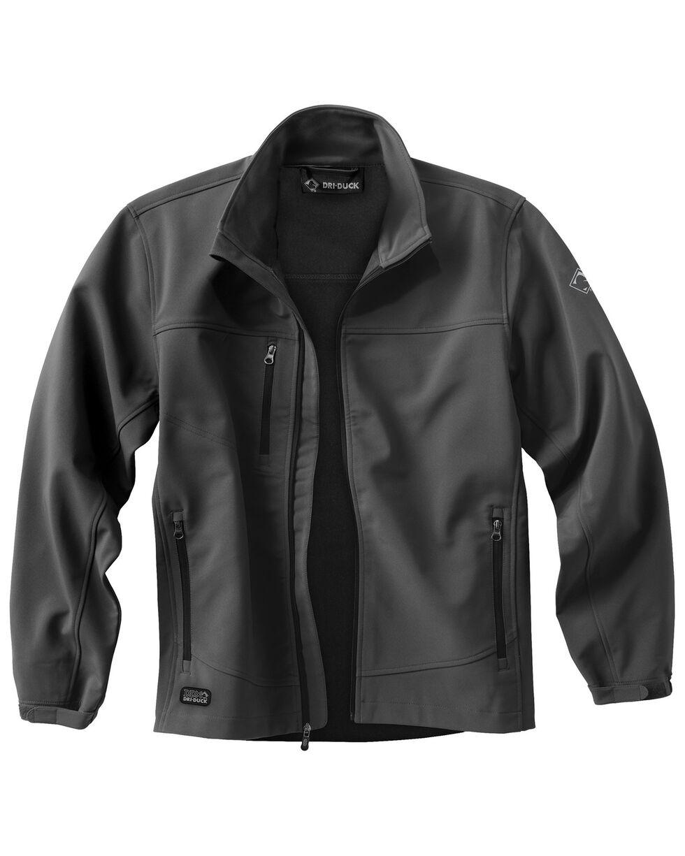 Dri Duck Men's Motion Softshell Jacket - Tall Sizes (XLT - 2XLT), Charcoal Grey, hi-res