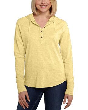 Carhartt Women's Coleharbor Hoodie , Yellow, hi-res
