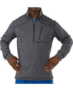 5.11 Tactical RECON Half-Zip Fleece, Black, hi-res