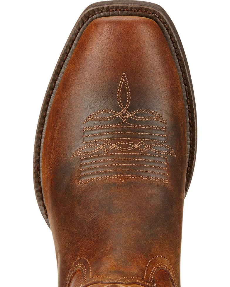 Ariat Troubadour Cowboy Boots - Square Toe , Brown, hi-res